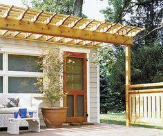 woodworking project plan mini pergola