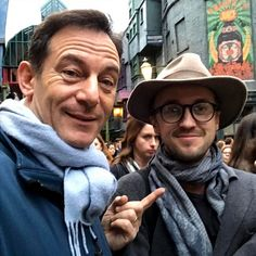 Jason Isaacs recently paid a visit to the Wizarding World of Harry Potter at the Universal Orlando Resort in Florida and reunited with Tom Felton, who played his onscreen son Draco Malfoy, and Matthew Lewis, who portrayed Neville Longbottom.  Rowling retweeted the photo and included a heart emoji alongside