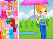 Free Online Girl Games, Polly loves the rain but she wants to stay as dry as she can! Help Polly get ready for the wet weather by changing out her clothes, umbrellas, rain boots and more! See what kind of rainy day fun you can create! Online Girl Games, Games For Girls, Dress Makeover, Rainy Day Fun, Wet Weather, Umbrellas, Free Games, Rain Boots, Dress Up