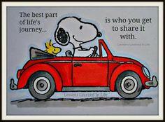 Snoopy life's journey