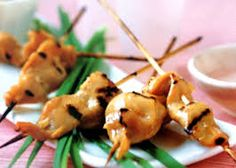 Chicken Satay with Peanut Sauce Recipe Peanut Sauce Recipe, Sauce Recipes, Chicken Recipes, Chicken Satay, Asian, Meat, Food, Essen, Meals