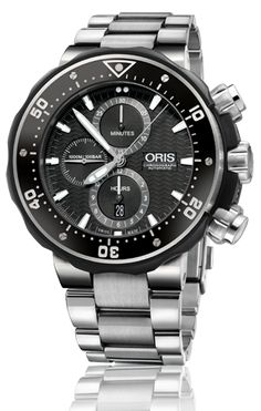01 774 7683 7154-Set - Oris ProDiver Chronograph - Oris ProDiver - Diving - Collection - Oris - Purely mechanical Swiss watches.