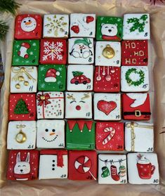Christmas Biscuits, Christmas Sugar Cookies, Christmas Deer, Christmas Time, Xmas, Cookie Box, Cookie Ideas, Decorated Cookies, Royal Icing