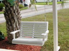 3 Discover Tips: Wicker Decoration Shabby Chic wicker chair legs.Wicker Makeover Home Decor wicker baskets pantries. Porch Swing Cushions, Wicker Porch Swing, Patio Swing, Swing Chairs, Wood Swing, Rocking Chairs, Room Chairs, Porch Swings For Sale, Wicker Planter