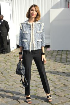 Guest arrive at the Louis Vuitton runway show during Paris Fashion Week Womenswear Spring/Summer 2014. Sophia Coppola