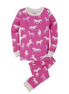 "Mädchen Pyjama Set "" Classic Horses "" Hatley"