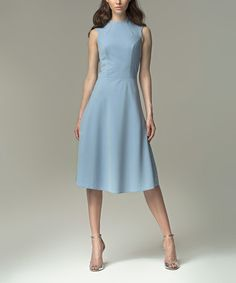 Another great find on #zulily! Blue A-Line Dress by NIFE #zulilyfinds