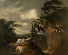 Storm at Night, by Thomas Barker ~ late 18th / early 19th century