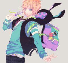Adrien Imagen de anime and boy