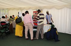 People travelled to Wales from as far as Africa to discuss important international issues