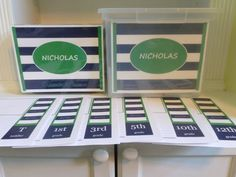 School Paper Organizer  School Memory Box PDF  by ZOrganizedMom