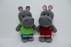 Amigurumi To Go: Little Bigfoot Hippo