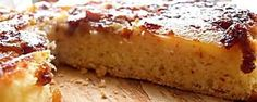 Torta invertida súper fácil Delicious Deserts, Cheesecake Brownies, Empanadas, Banana Bread, French Toast, Bacon, Food And Drink, Breakfast, Desserts