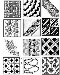 zentangle patterns doodle drawings zen zentangles pattern tangle easy simple doodles sheets bing beginners step something craft draw designs drawing