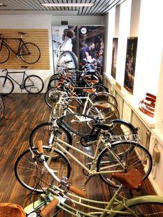 Shop visit: Classic Bike, Helsinki.   Bikeminimalism.