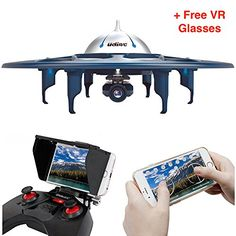 SAVA UDI U845 WiFi VoyagerWiFi FPV Drone RC Quadcopter UFO with 720P HD Camera Bonus Battery Included Upgrade Version Plus Virtual Reality Glasses as GIFT >>> See this great product.Note:It is affiliate link to Amazon. #60likes