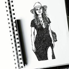 """86 mentions J'aime, 5 commentaires - A N G E L (@le_coin_angelique) sur Instagram: """". . -(Follow for more)👆👆 -Feel free to repost -What do you think 💭 #draw #drawing #draws #drawings…"""" Drawing S, Sketch, Bodycon Dress, Free, Instagram, Dresses, Fashion, Sketch Drawing, Vestidos"""