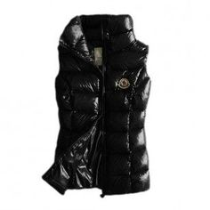 France Moncler Quilted Body Warmer Black Vest Women Online Sales