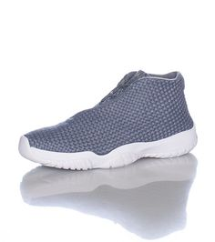 JORDAN Low top woven sneaker Asymmetrical lace up closure Cushioned inner  sole