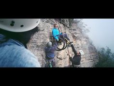 Paralyzed Mom Hangs from a Cliff for Epic Mother's Day Photo Shoot