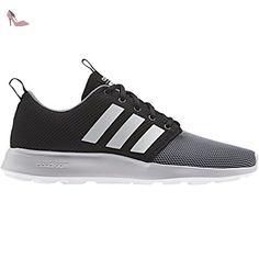 adidas Cloudfoam Swift Racer, chaussure de sport homme - noir - Nero  (Negbas/