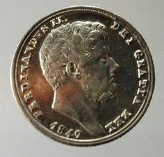 Attualmente nelle aste di #Catawiki: Regno delle Due Sicilie – 20 Grana 1847 secondo tipo Ferdinando II – arge...