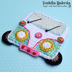 Car/Camper coaster by Vendula Maderska