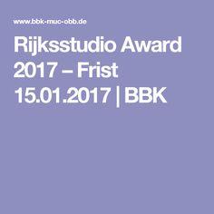 Rijksstudio Award 2017 – Frist 15.01.2017    BBK