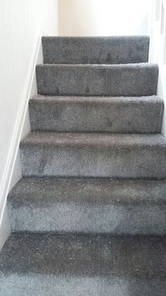 Dark Grey Stairs Carpet For Your Home Ed In Altrincham Cheshire Landing