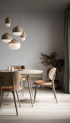 Hanging lamp TERHO LAMP- Hängeleuchte TERHO LAMP Danish design pendant lights in a round shape with a lime wood frame for modern living rooms - Design Living Room, Dining Room Design, Dining Room Lamps, Living Rooms, Dining Stools, Dining Room Colors, Living Room Interior, Table Lamps, Kitchen Interior