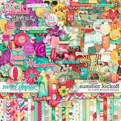 *FREE with Purchase Offer* Summer Kickoff by Sweet Shoppe Designs