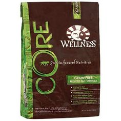 Wellness CORE Reduced Fat Dry Dog Food (Click for Larger Image)