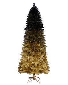 Treetopia - Black Gold Ombre Christmas Tree