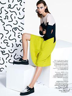 looks: alex yuryeva by frederik lätt for madame air france august/september