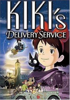 A Mighty Girl Top Pick: The Movies of Hayao Miyazaki and Studio Ghibli Hayao Miyazaki, Studio Ghibli, Kiki Delivery, Kiki's Delivery Service, Kirsten Dunst, Verona, Mighty Girl Books, Really Good Movies, Girl Film