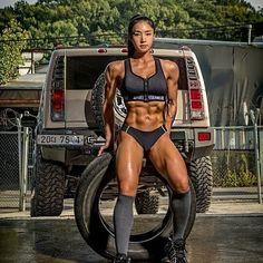 onlyrippedgirls: Lee-Ye-Rin 🔥🔥🔥🔥 - Hot Sports and Fitness Girls Sexy Women, Fit Women, Bikini Babes, Sixpack Women, Fitness Inspiration, Hot Girls, Girls Fit, Model Training, Ripped Girls