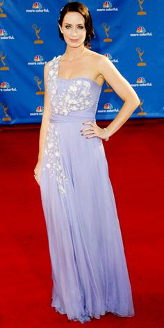 Emily Blunt's Best Red Carpet Looks - In Christian Dior, 2010 from #InStyle