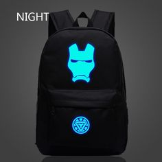 Super Hero Iron Man Backpack Luminous Unisex Backpacks  $27.84 and FREE shipping  Get it here --> https://www.herouni.com/product/super-hero-iron-man-backpack-luminous-unisex-backpacks/  #superhero #geek #geekculture #marvel #dccomics #superman #batman #spiderman #ironman #deadpool #memes