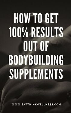 If you are considering using bodybuilding supplements to boost your normal diet and workout regimen then don't delay! Health And Wellness, Mental Health, Correct Time, Bodybuilding Supplements, Wellness Programs, Workout Challenge, Factors, Benefit, How To Get