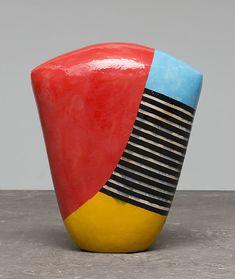 Clay Vase, Ceramic Vase, Ceramic Pottery, Pottery Art, Pottery Ideas, Modern Ceramics, Contemporary Ceramics, Aboriginal Painting, Elements And Principles