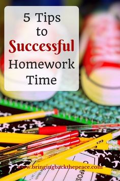Need help with homework time? These homework tips can help parents set up a successful and productive homework time for their children. Take the stress and frustrations out of homework time by using these tips today!