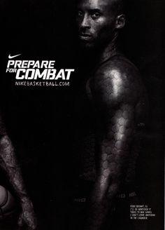 Nike ad, Kobe Bryant.