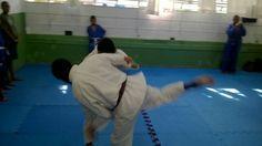 Treino no judo Mexico