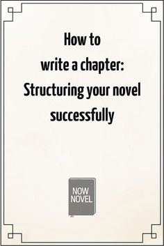 Wondering how to write a chapter? What is a chapter? What purpose does it serve? How do you begin a chapter or end one? Read this guide.