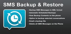 A simple App to Backup and Restore SMS Messages, this is a Paid No-Ads version. On Android 4.4+ devices, if you have performed the Restore and the messages don't appear in Hangouts then: Just Open Hangouts and Disable SMS from Settings then Exit the Hangouts app now open Hangouts and Enable SMS from Settings.
