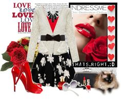 """""""Do you want to be my Valentine?"""" by franzine ❤ liked on Polyvore"""