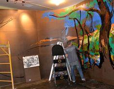 Beginning Mural