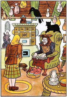 Nezbedné pohádky (mj) Children's Book Illustration, Children's Books, Czech Republic, Witches, Ephemera, Illustrators, Diana, The Past, Animation