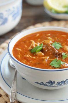 Gourmet Recipes, Soup Recipes, Healthy Recipes, Algerian Recipes, Algerian Food, Scallop Recipes, International Recipes, Soul Food, Family Meals