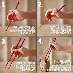 How to use chopsticks Life Hacks (@LifeHacks) | Twitter